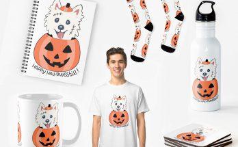 Happy Hallowestie - Halloween westie Products